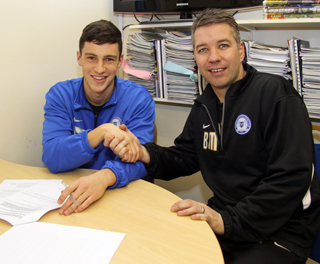 17. Joe Newell signs new contract with Ferguson