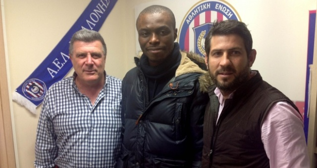 Gaby Zakuani signs for Kalloni of Greece