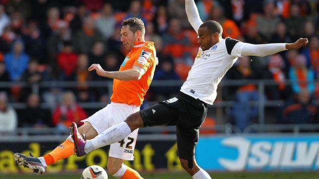 Tyrone Barnett v Blackpool