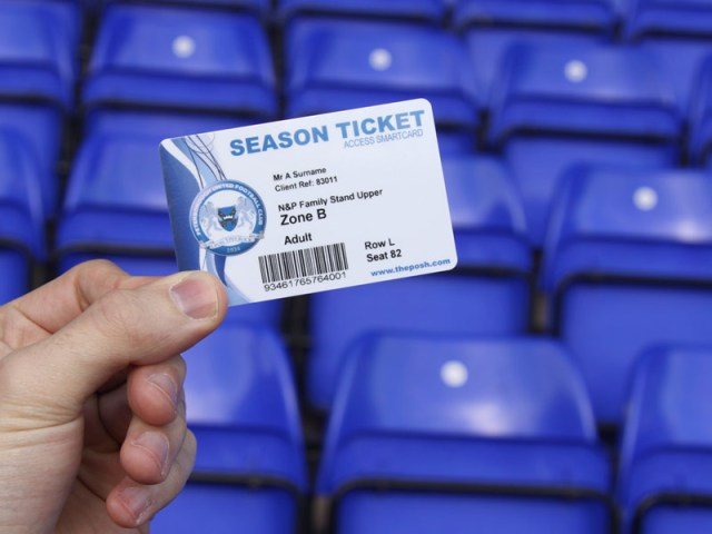 2013-14 Posh Season Ticket