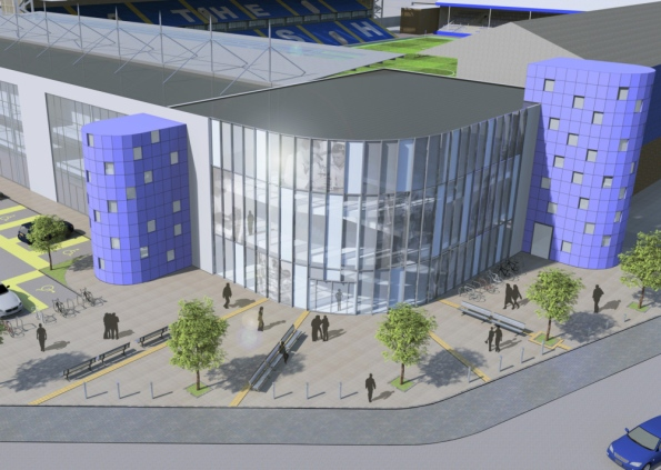 Artists impression of the new Moys End