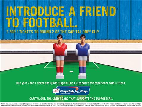 Capital One 2 for 1 Promotion