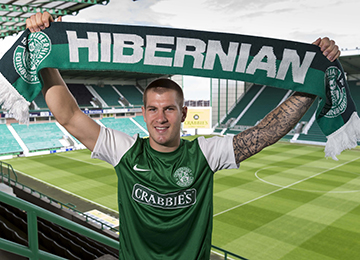 Hibernian New Striker James Collins