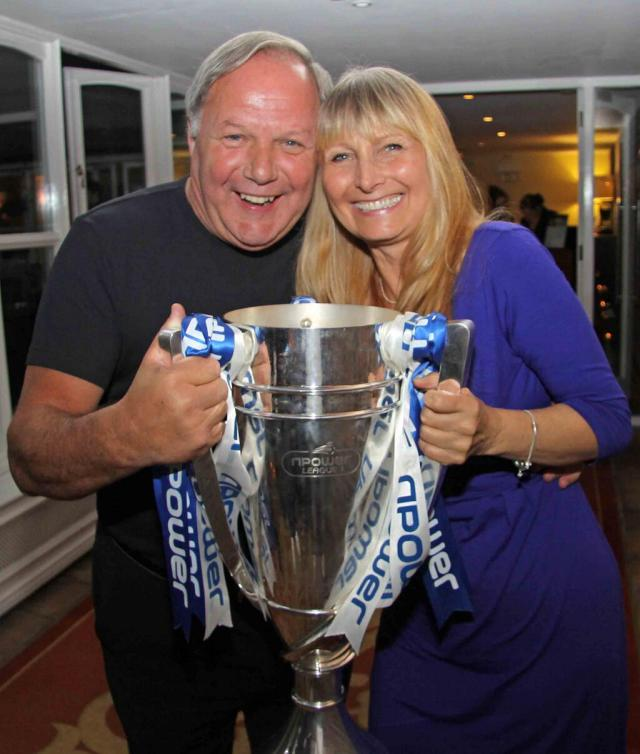 Joan Hill and Barry Fry