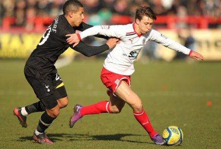 Soccer - FA Cup - Fifth Round - Stevenage v Tottenham Hotspur - Broadhall Way