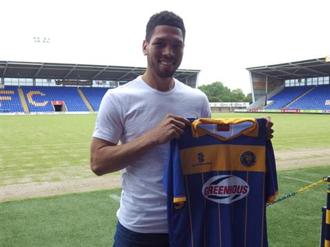 Nat Knight-Percival joins Shrewsbury Town