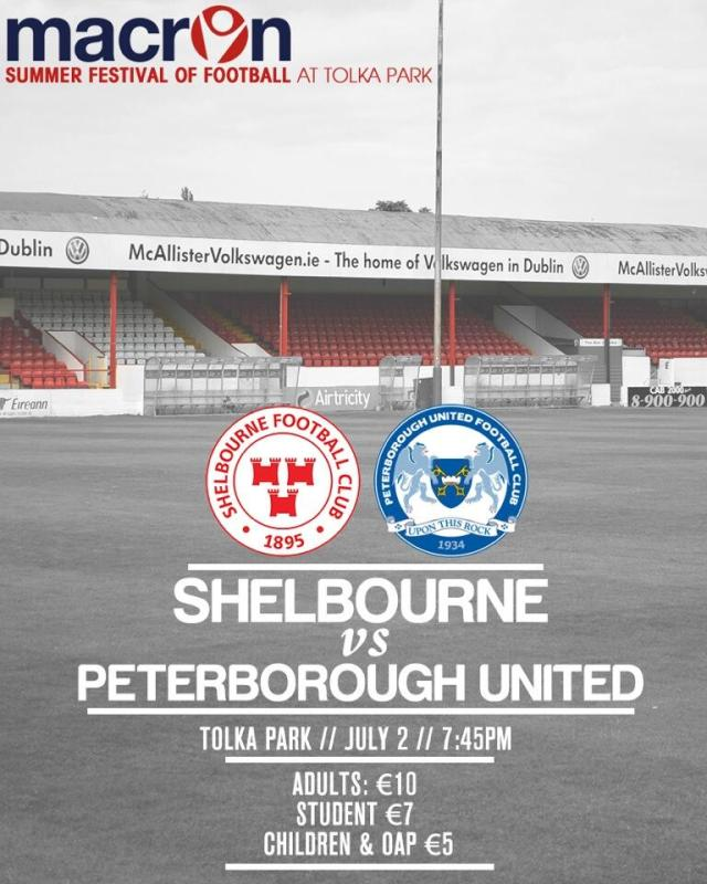 Shelbourne v Posh