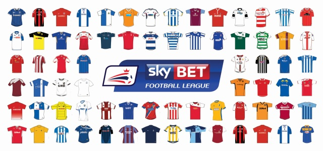 Sky Bet Football League incl shirts