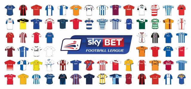 Sky Bet Football League incl shirts