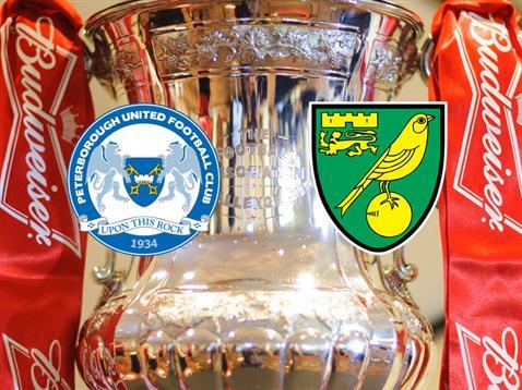 Posh v Norwich City FA Cup