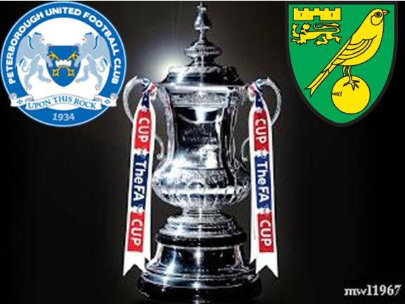 Posh v Norwich - FA Cup 2012-13