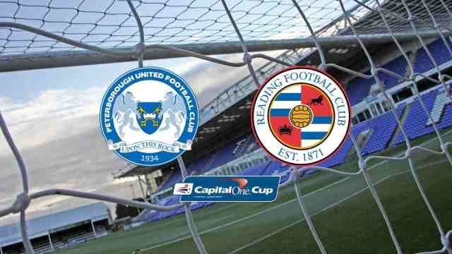 Posh v Reading - Capital One Cup