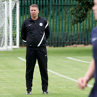 Day 2 - Darren Ferguson overlooking pre-season training