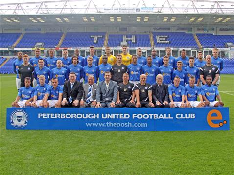 Posh Team Photo 2012-13