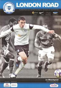 01-12-2012 Posh 1 v 4 Blackpool programme