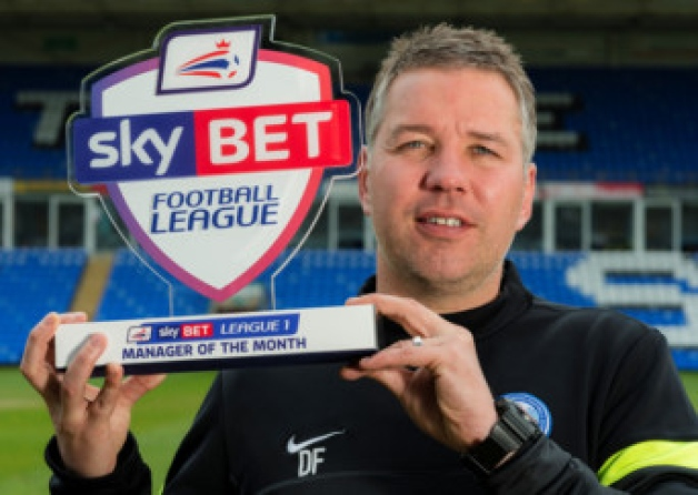 April 2013-14 League One Manager of the Month Winner - Darren Ferguson