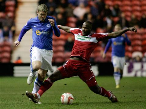 Grant McCann v Middlesbrough 2