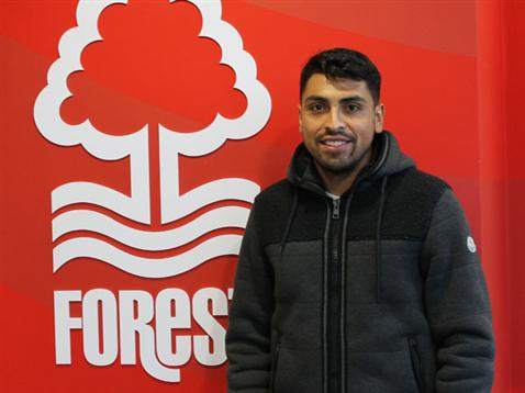 Reyes signs for Forest ahead of the Posh match