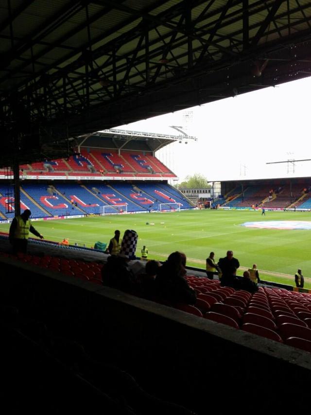 Selhurst Park pre-match 2