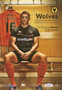 Wolves v Posh 2012-13 Programme