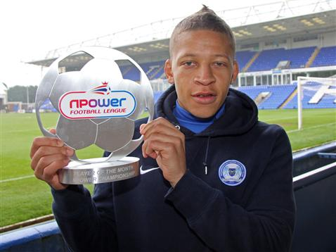 Dwight Gayle - npower Championship Player of the Month December 2012 b