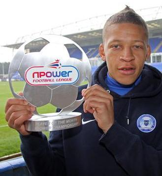 Dwight Gayle - npower Championship Player of the Month December 2012 c