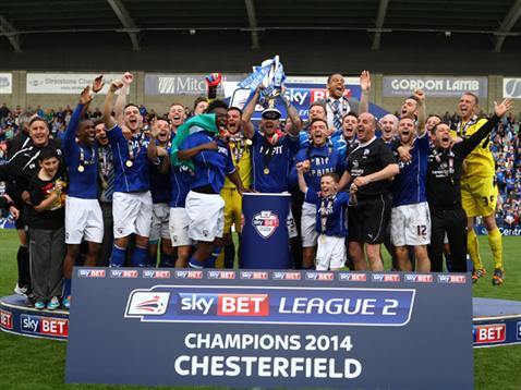 2013-2014 League Two Champions - Chesterfield