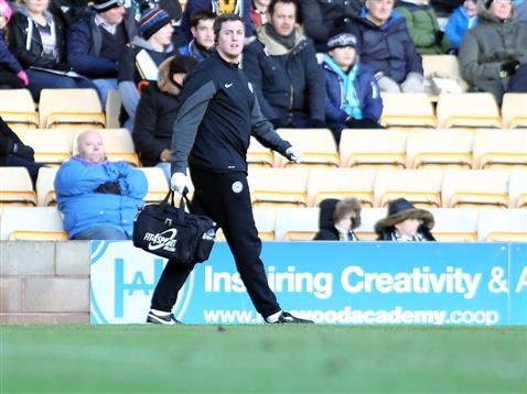 Jonathan Chatfield joins as new first team physio