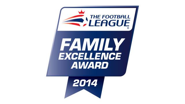 The Football League Family Excellence Award 2014