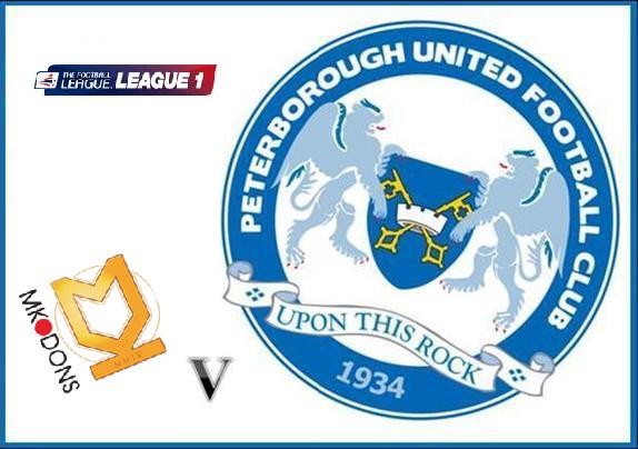 mk dons vs peterborough