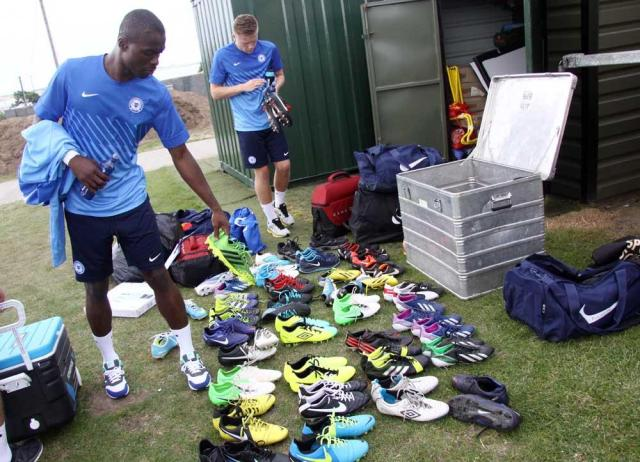 Posh on Tour - Day 2 - The boot collection