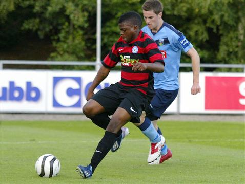 Posh on Tour - Day 3 - UCD v Posh - Shaq McDonald