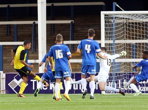 Watford goal v Posh