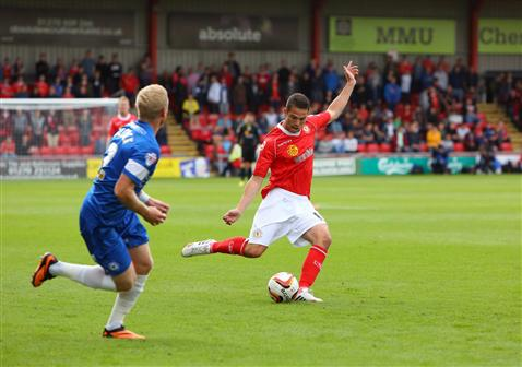Craig Alcock v Crewe