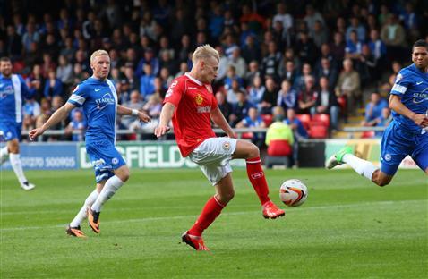 Crewe attacking Posh