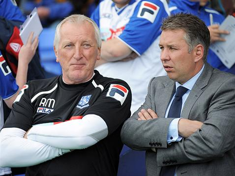 Darren Ferguson and Ronnie Moore