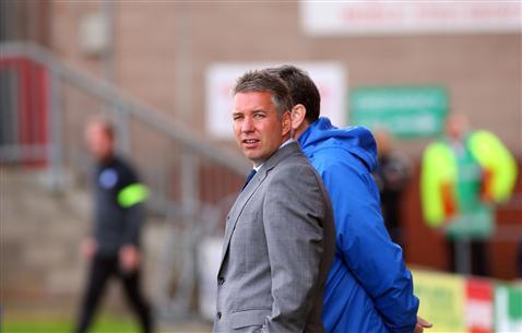 Darren Ferguson v Crewe