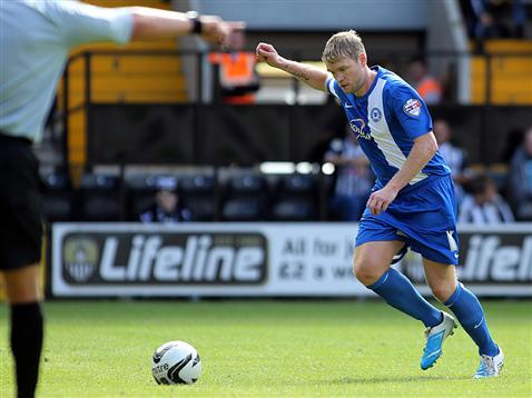 Grant McCann penalty v Notts County