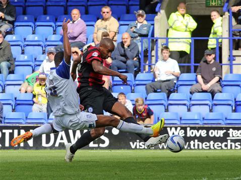 Tyrone Barnett goal v Tranmere 2
