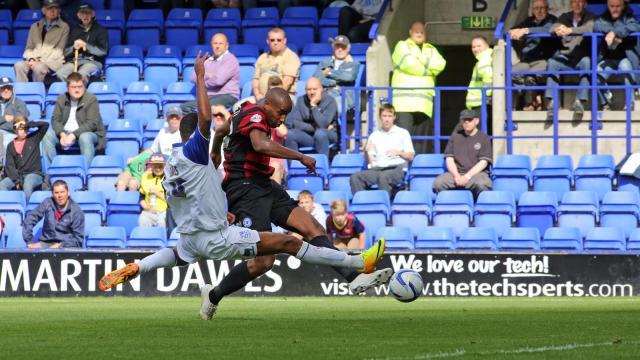 Tyrone Barnett goal v Tranmere
