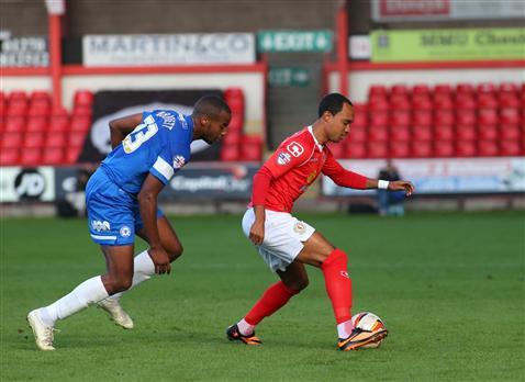 Tyrone Barnett v Crewe 2