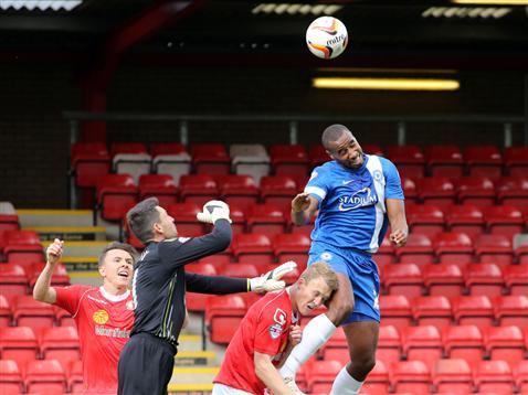 Tyrone Barnett v Crewe