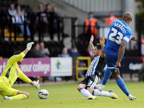 Tyrone Barnett v Notts County