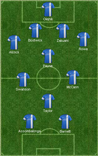 4-3-3 with Paul Taylor & McCaan on left