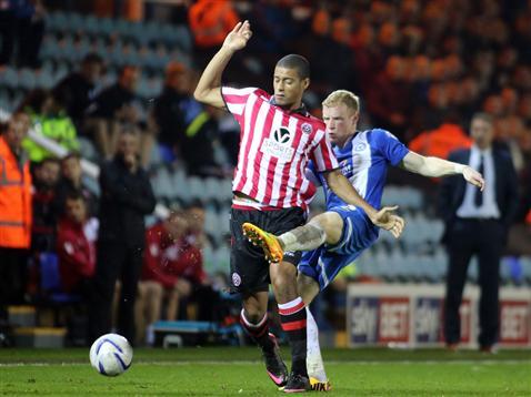 Craig Alcock v Sheff Utd