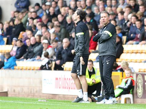 Darren Ferguson and Gary Breen v Port Vale