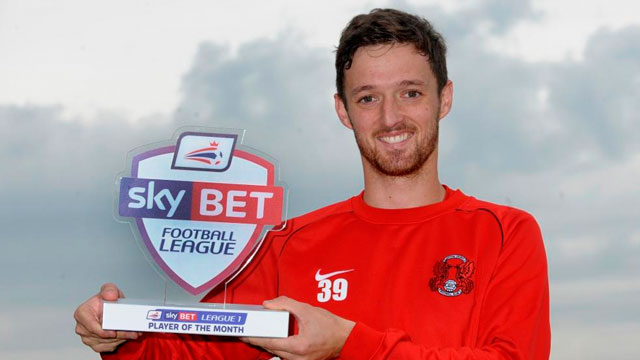 David Mooney - Leyton Orient - September 2013-14 Sky Bet League One Player of the Month