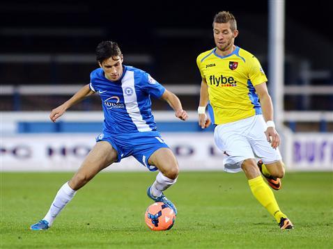 Joe Newell v Exeter City