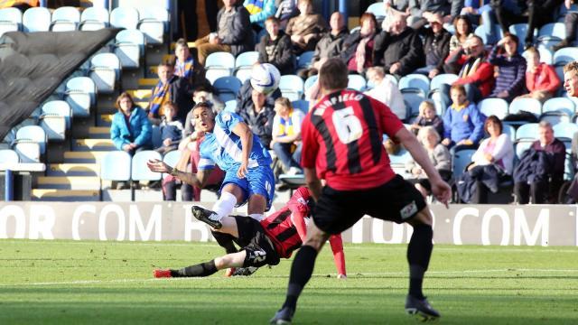 Nathaniel Mendez-Laing scores only goal of game v Shrewsbury