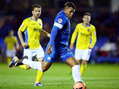 Nathaniel Mendez-Laing striking goal number 2 v Exeter City